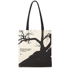Look what I found at UncommonGoods: Nature's Secret Tote Bag for $24 #uncommongoods