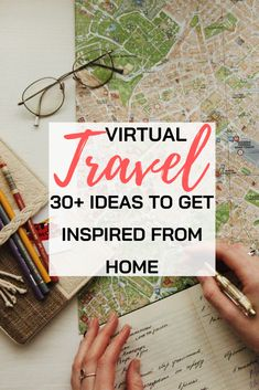 Let´s travel virtually: ideas to get inspired from home Can´t set out for your dream destination right now? - There are so many exciting things you can do from home to stay inspired. Let´s travel virtually! Virtual Travel, New Travel, Travel Tips, Travel Destinations, Travel Ideas, Travel Hacks, Travel Info, Travel Advice, Travel Photographie