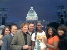 Keeley, Marc, B, Seth, Kye, Monica and Melanie T. Capitol 4th.