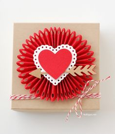 Here are 5 paper craft projects to get you ready for Valentine's Day.