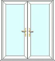 French Door set, fully made to measure. Design, quote and order online easily with Just Value Doors today. External French Doors, Upvc French Doors, Tall Cabinet Storage, Locker Storage, Doors Online, Main Door Design, Door Sets, Back Patio, Quote