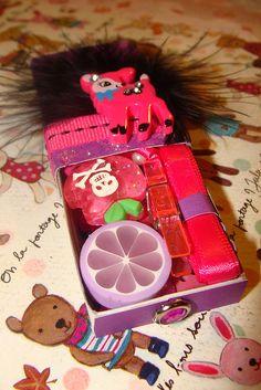 Pink & Purple Matchbox