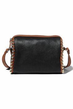 Big Buddha Eliad Black Cross Body Bag.....The Eliad Bag is Great in Black or Butterscotch!