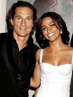 Matthew McConaughey and Camila Alves by harriett