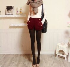 Adore this outfit for fall/winter!
