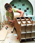 How to make your own cardboard furniture.
