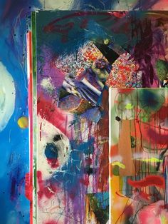 ArtBanana.cz - ateliery - Matěj Olmer Online Galerie, Contemporary, Artist, Painting, Atelier, Artists, Painting Art, Paintings, Painted Canvas