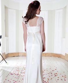 O vestido ideal para as noivas grávidas » ListaPerfeita