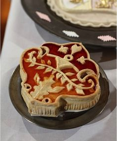 Food History Jottings: Lattice Top Tarts and Their Precursors