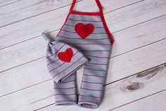 Love Me Newborn Romper Set Romper Romper and by LeopardontheHOOK