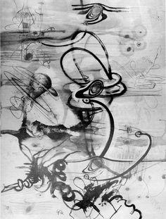 Carroll Dunham, Untitled, 1984/85