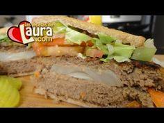 Hamburguesa con cebolla asada Las Recetas de Laura Recetas Light