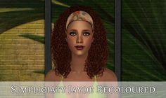 Sims 2 Hair, My Girl, Curly Hair Styles, Crown, Female, Girls, Fashion, Hairstyles, Toddler Girls