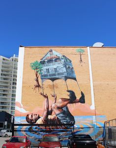 Townsville street art photography trail - Fintan Magee | townsvilleshines #thisisqueensland