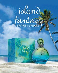 Island Fantasy by BRITNEY SPEARS una fragancia con un delicioso aroma frutal y fresco.  #Woman #Fragancias