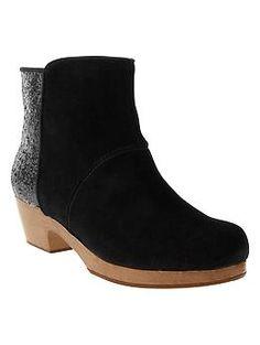 Glitter clog boots | Gap