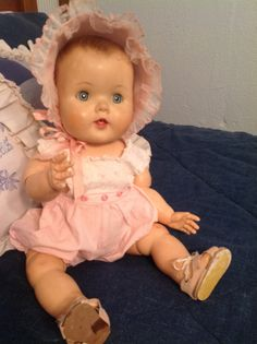 1960 Toodles doll by American Character in original clothing...had Toodles as a child, still have her, one of my favorites