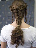 caryatid hairstyles in real hair - so beautiful