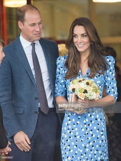 Catherine, Duchess of Cambridge and Prince William, Duke of Cambridge attend…