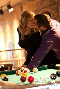around a pool table would be appropriate for us lol