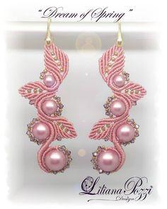 pink macramé