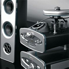From the makers of the Pagani Zonda supercar comes the newest uber expensive high-end audio system. The stereo setup features a turntable, c...