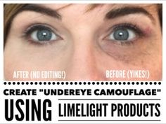 Create UNDEREYE CAMOUFLAGE with Limelight Products - YouTube