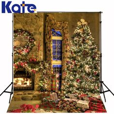 Find More Background Information about photo background christmas Christmas tree window  5x7ft(1.5x2.2m) background photo ZJ,High Quality tree fairies,China trees gallery Suppliers, Cheap tree from Marry wang on Aliexpress.com