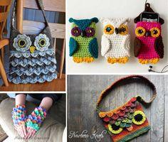 Crocodile Stitch Owl Purse Pattern