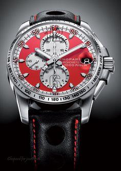 Mille Miglia GT XL Chrono Rosso Corsa watch