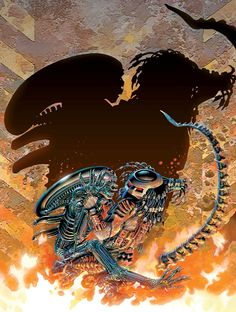 Predator: Blood Time cover art