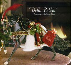 Breyer DELLA ROBBIA RENAISSANCE HOLIDAY HORSE #700105 NIB Andalusian Model