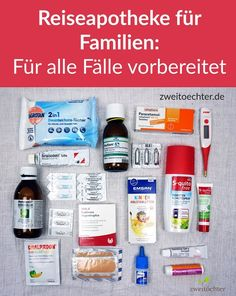 First-aid kit for families - medicines and aids for traveling, on the go . - Family first-aid kit – Medicines and aids for travel, on the go with children - Beach Camping Tips, Diy Camping, Camping With Kids, Camping Hacks, Travel With Kids, Camping Checklist, Backpacking Tips, Family Travel, Camping Site