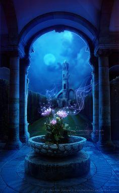 Castle Grounds by kuschelirmel.deviantart.com on @deviantART