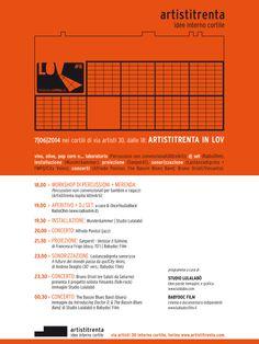 programma Artistitrenta LOV Night #6 a cura di Studio Lulalabò + Babydoc Film www.vanchigliaopenlab.it/LOV6/studio-lulalabo www.vanchigliaop...