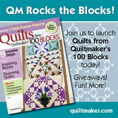 We're giving away 25 copies of this great new issue with 19 innovative quilt designs on Quilty Pleasures: http://bit.ly/1w2wh8n