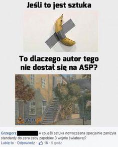 Memy i Obrazki na Jeja.pl - Pop14dni Past Tens, Haha, Jokes, Country, Friends, Author, Fotografia, Chistes, Amigos