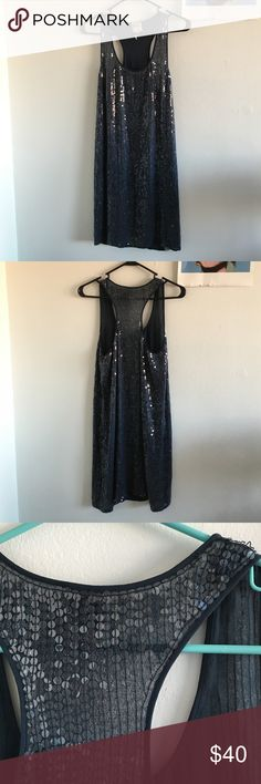 Haute Hippie Sequin Dress Gently loved Haute Hippie sequin dress.  This dress has been loved but still has a lot of life in it.  There are a few missing sequins but it is not that noticeable, the 3rd picture is the worst of it, I counted only one missing on the front. Great dress! Haute Hippie Dresses Mini