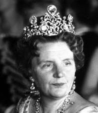 Stuart Tiara worn by the late HM Queen Juliana of the Netherlands.