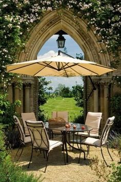 Garden patio...love the http://view..