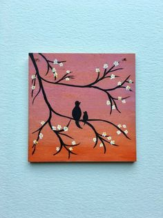 Mama Baby Tiny Wood Painting Acrylic Wood Wall Art Pink Orange Ombre Wall Hanging Gifts For Her Mom Mama Amp Baby Tiny Wood Painting Acrylic Wood Wall Art Pink Orange Ombre Wall Hanging Gifts For Simple Canvas Paintings, Easy Canvas Art, Small Canvas Art, Easy Canvas Painting, Mini Canvas Art, Cute Paintings, Small Paintings, Diy Painting, Painting On Wood