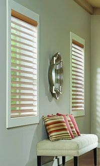 Graber Overture Sheer shades - a sheer 2 inch shade with the advantages of blinds.