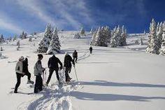 Racchette da neve, Ciaspole attorno al passo Tremalzo