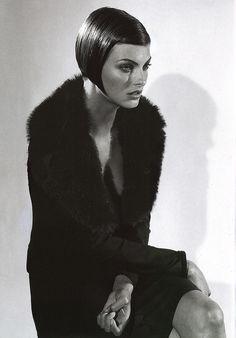 https://flic.kr/p/bWXVZQ | Dolce & Gabbana: Fall/Winter Collection 1995-1996 | Model: Linda Evangelista Photography: Steven Meisel