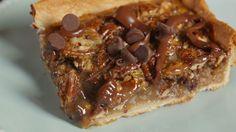 Chocolate Pecan Slab Pie  - Delish.com
