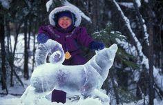 Fairbanks Ice Sculpture