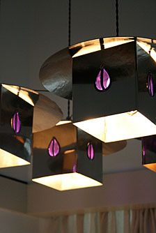 Charles Rennie Mackintosh lights.