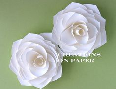 Stampin' Up!  Ornament Punch  Kay Sha  Paper Flower Tutorial