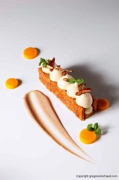 gregoire michaud. #plating #presentation