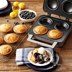 Breville Personal Pie Maker #williamssonoma; Okay I might actully bake pies if I had this!
